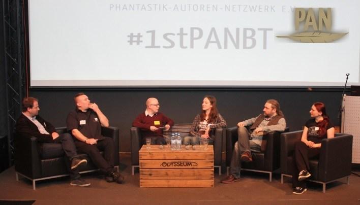 PAN-Branchentreffen 2016, Lesung mit Kai Meyer, Markus Heitz und Bernhard Hennen
