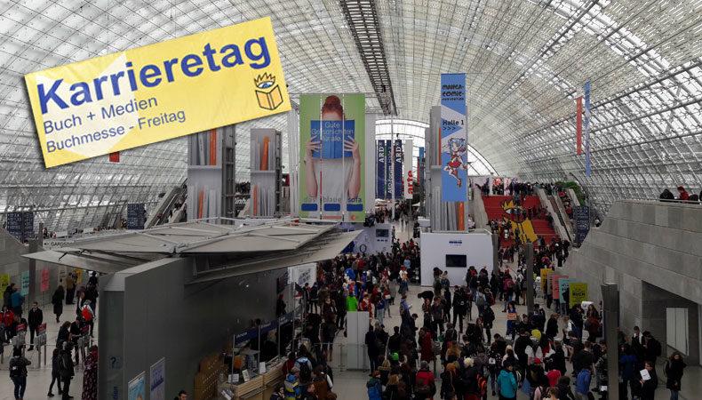 Der Karriere-Tag auf der Leipziger Buchmesse 2018