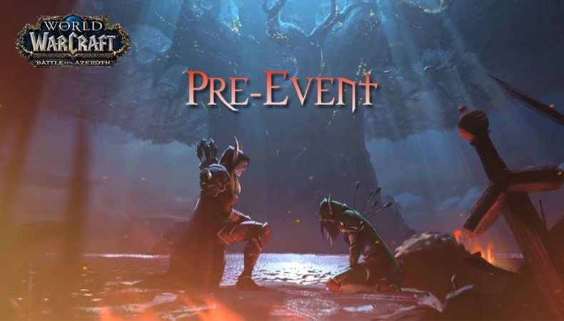 Pre-Event zu Battle for Azeroth, World of Warcraft