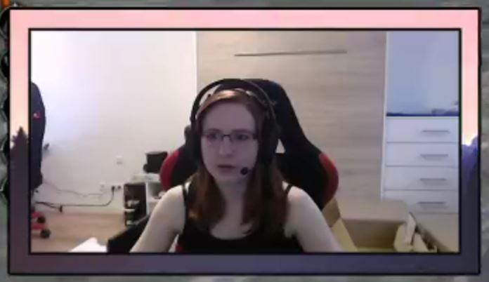 Frau mir Headset